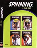 Spinning 4 DVD set- Ride On, Pedal Power, Crank it Up, Heart Racer