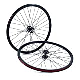 State Bicycle Fixed Gear Freestyle FGFS Wheels Front Plus Rear Black