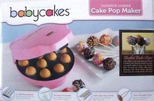 Babycakes Pop maker-pink B005OCW24Q