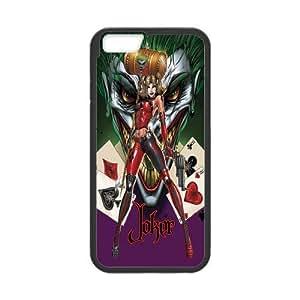 "ROBIN YAM Batman Joker Hard TPU Rubber Coated Phone Case Cover for iPhone 6 4.7"" - iPhone 6 Cases - I6-00309"