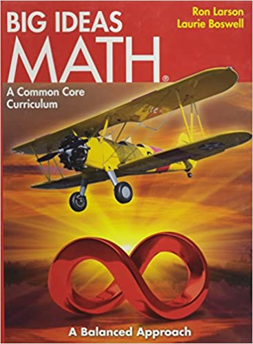 BIG IDEAS MATH: Common Core Student Edition Red 2014