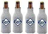 MLB Tampa Bay Rays Glitter Bottle Suit Koosie (Pack of 4)
