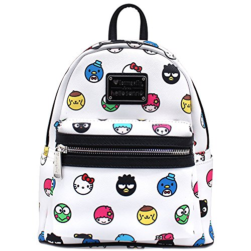 Loungefly Hello Sanrio Circle AOP Mini Backpack