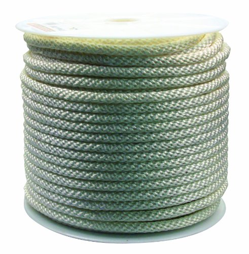 Rope King SBN-12300 Solid Braided Nylon Rope 1/2 inch x 300 feet ()
