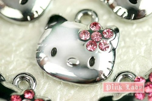 New Hot selling Cute Hello Kitty Cat Charm Pendant Wholesale (10 pcs) K11-B