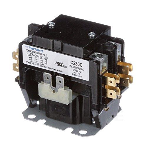 C230C Double two 2 Pole 30 Amps 208 230 240 Volts A/C Contactor: Motor  Contactors: Amazon.com: Industrial & ScientificAmazon.com