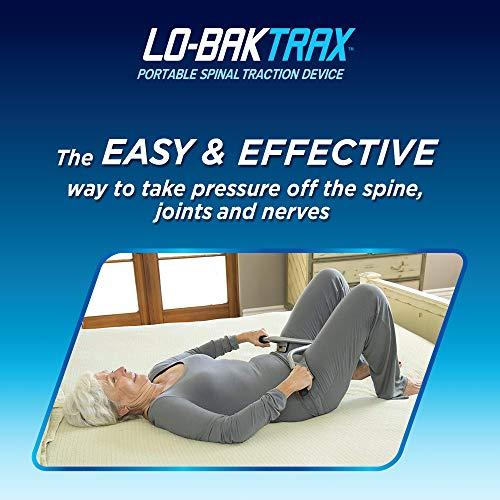 Lo-Bak TRAX Portable, Spinal Traction Easy, Comfortable & FDA Registered 510K Device