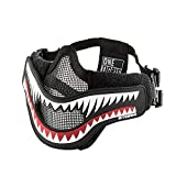 10. OneTigris X Storm Airsoft Mask with Removable Shark Jaw Morale Patch (Storm)