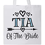 Inktastic - Tia Of The Bride Aunt Wedding Tote Bag White 2f312