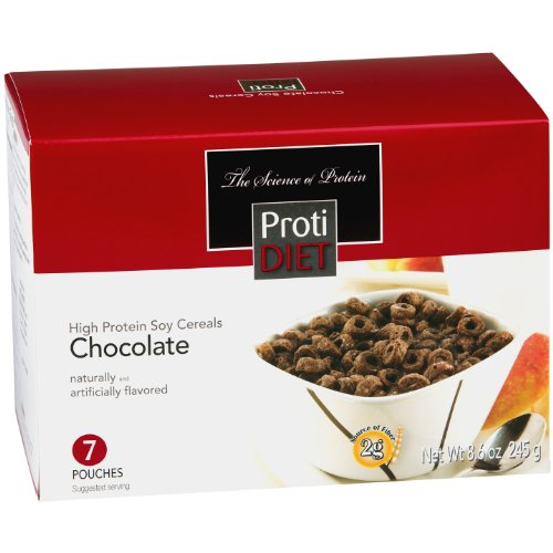 ProtiDiet High Protein Chocolate Cereal (7 Servings/Box)