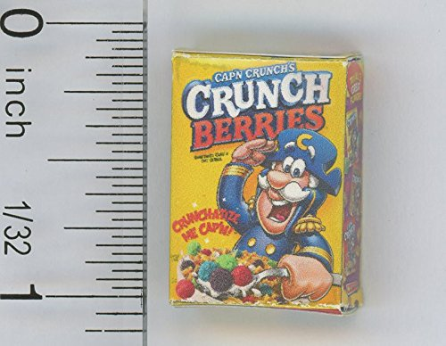Dollhouse Miniature 1:12 Scale Box of Crunch Berry Cereal by Cindi039;s Mini039;s