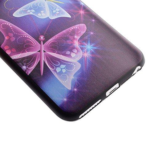 "HYAIT® For IPHONE 6 PLUS 5.5"" [XXG BLACK V1]Scratch-Proof Ultra Thin Rubber Gel TPU Soft Silicone Bumper Case Cover -BKI04"