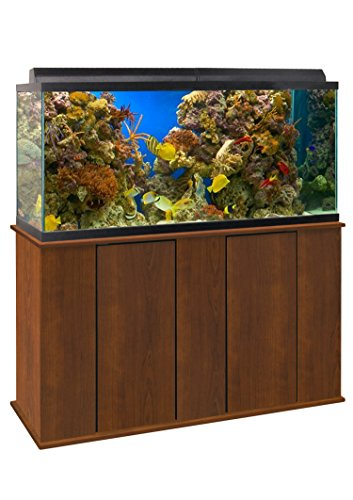 Aquatic Fundamentals 36751-68-AMZ 75-90 Gallon Upright Aquarium Stand, Serene Cherry by Aquatic Fundamentals