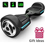 """Magic hover 6.5"""" inch Wheels Original Electric Smart Self Balancing Scooter Hoverboard G1 with Music Speaker LED Lights for Kids adult-UL2272 Certificated"""