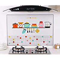 Kitchen self-adhesive oil-proof wall stickers High temperature and smoke-proof waterproof stickers Cartoon oil-proof…