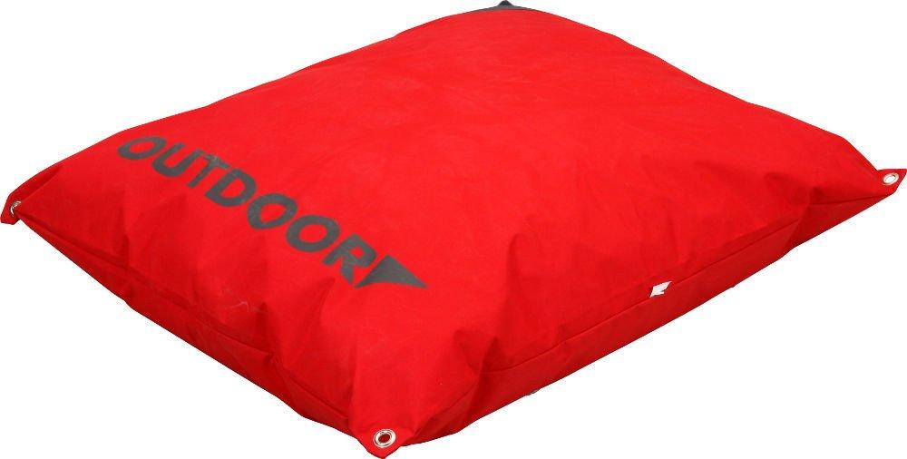 Coussin imperméable déhoussable Outdoor Rouge 90 cm aussi bien pour ...