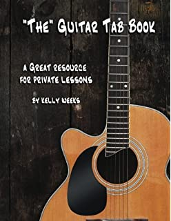 The Guitar Tab Book: A Great Resource for Private Lessons