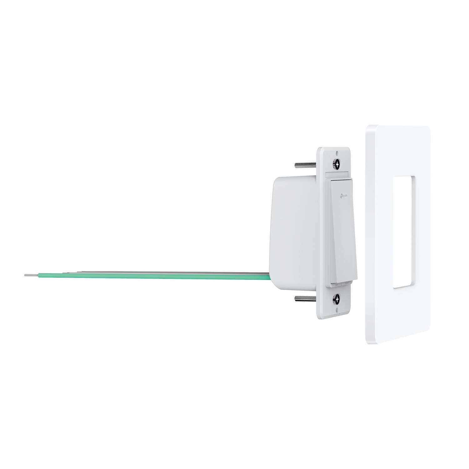 TP-LINK HS200P3 Kasa Smart WiFi Switch (3-Pack) Control Lighting from Anywhere, Easy in-Wall Installation (Single-Pole Only), No Hub Required, Works with Alexa and Google Assistant, White by TP-LINK (Image #3)