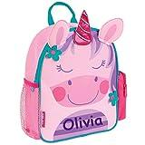 Stephen Joseph Personalized Little Girls' Mini Sidekick Unicorn Backpack With Name