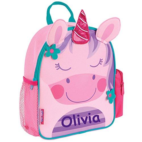 (Stephen Joseph Personalized Little Girls' Mini Sidekick Unicorn Backpack With Name)