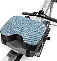 Kohree Concept 2 Rowing Machine Seat Cushion Pad Model 2 with Thicker Memory Foam, Washable Cover and Straps f