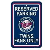 Minnesota Twins Plastic Parking Sign