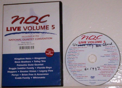 NQC Live!: Recorded at the National Quartet Convention, Vol. 5 by Crossroads Records
