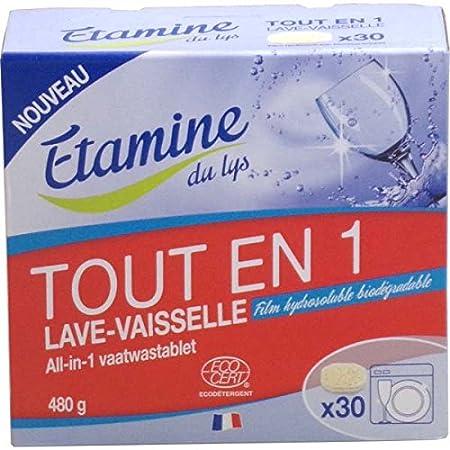 Pastillas lavavajillas todo en uno Etamine Du Lys, 30 ud: Amazon ...