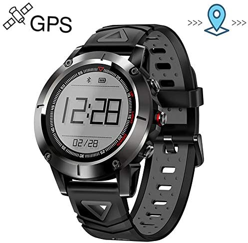 EGOFEI Multi-Sport Watch Men s GPS Smart Fitness Activity Tracker with Heart Rate Monitor and Compass for Swimming and Camping