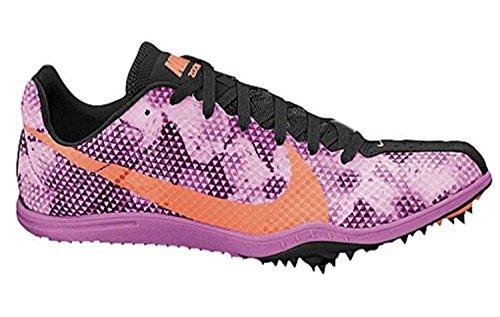 Nike Dames Zoom W 4 Hardloopschoen, Rood Violet Atomic Orange Zwart, 10 Bm Us