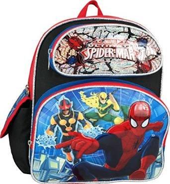 """Marvel Ultimate Spiderman Toddler 12"""" Backpack"""