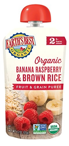 Earths Best Organic Raspberry Packaging product image