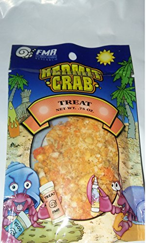 Fmr Hermit Crab (Hermit Crab Treat Pouch 0.75 Ounce By Florida Marine Research (FMR))