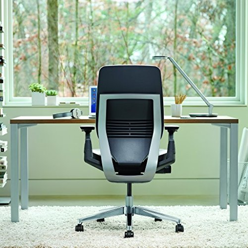 Steelcase Gesture Office Chair Upholstered Wrapped Back