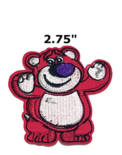 Toy Story Lots-o'-Huggin' Bear Cartoon Embroidered Sew or Iron-on Patch Badge DIY Application Appliques