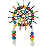 Animal Treasures LBW-0249 Birdie Sticks & Stones Wheel Bird Toys