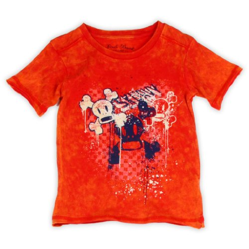 (Paul Frank Julius Boys Tee Shirt-Red-7)