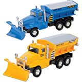 Die Cast Snow Plow Truck (Sold Individually - Colors Vary)