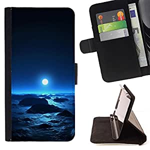 DEVIL CASE - FOR Sony Xperia Z1 L39 - Space Planet Galaxy Stars 64 - Style PU Leather Case Wallet Flip Stand Flap Closure Cover