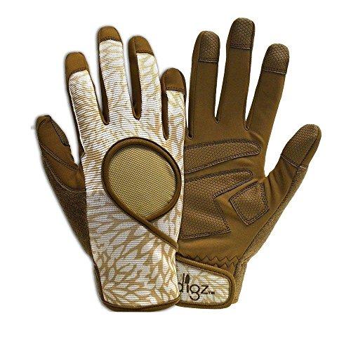 Digz Women's Garden Glove High Performance Signature Brown Size Medium (Part no 7252-26)