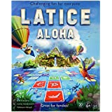 Latice Aloha Strategy Game - The Popular New Family Game for Kids and Adults, Challenging Fun for Everyone