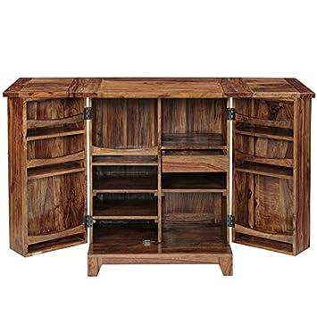Inhouz INHZ0853(T) Bar Cabinet (Brown)