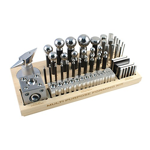 Dapping and Forming Set 43 Pieces - SFC Tools - 25-634