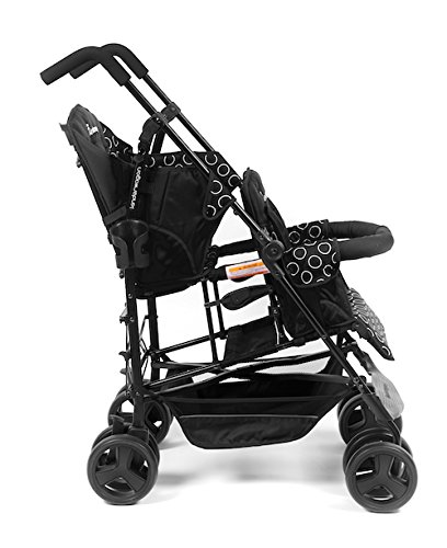 Kinderwagon Hop Tandem Umbrella Stroller Black V2 Buy