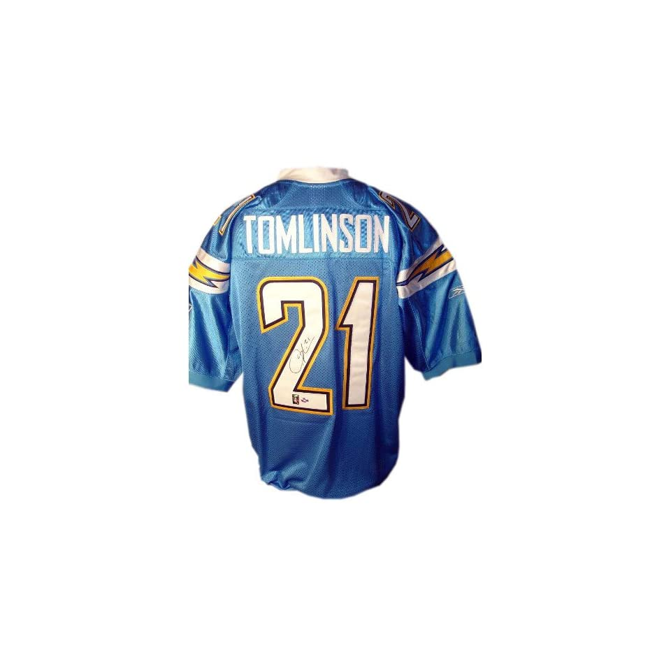 LaDainian Tomlinson San Diego Chargers Autographed Style Powder Blue EQT Jersey