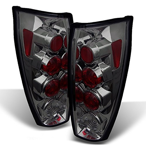 For 02-06 Chevy Avalanche Pickup GMT800 Rear Smoke Tail Lights Brake Lamps Taillamps ()