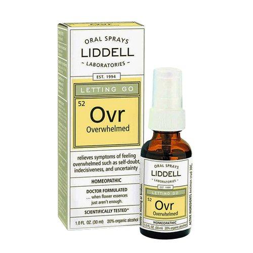 Liddell Homeopathic Letting Spray, Go Overwhelmed, 1 Fluid Ounce