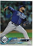 #9: 2018 Topps Rainbow Foil #332 Alex Colome NMMT Rays