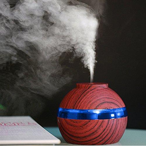 Venta caliente de invierno! Fenebort USB Charg Air Aroma Difusor de aceite esencial LED Ultrasónico Aroma Aromaterapia...