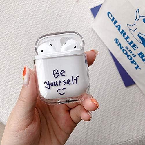 Air smart headphones Bluetooth earphone Be Yourself Pattern